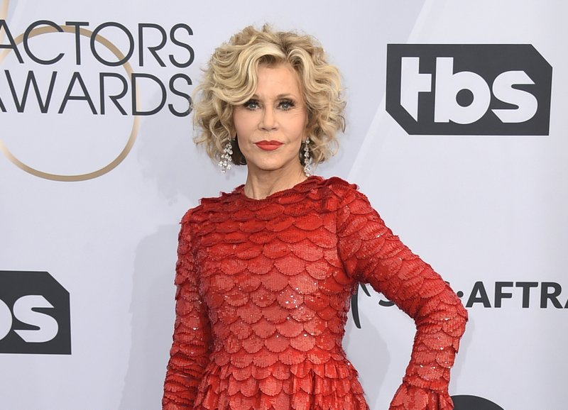 Jane Fonda arrested protesting climate change in Washington