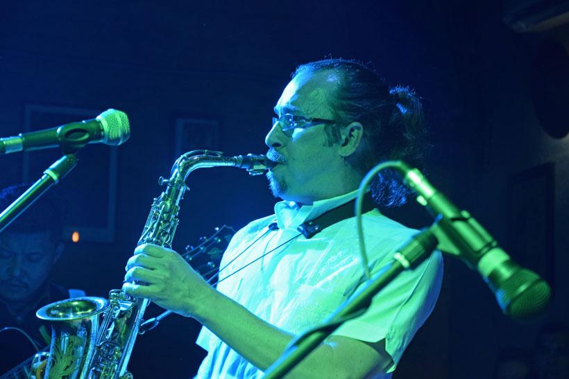 Jazz musicians get together at Moksh