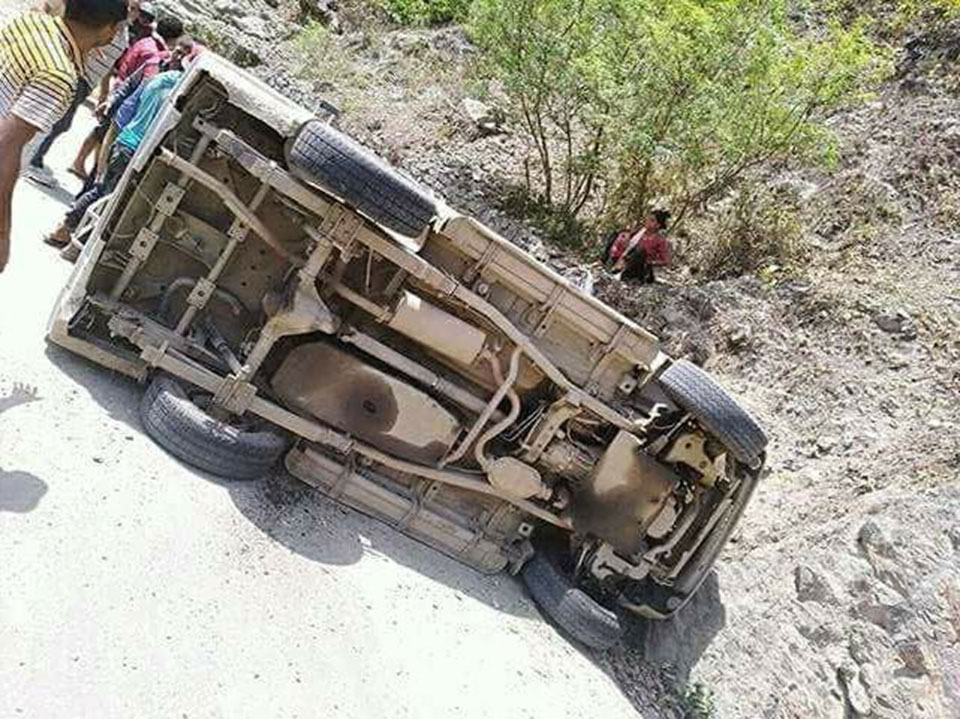 Death toll in Baglung jeep accident climbs to 4
