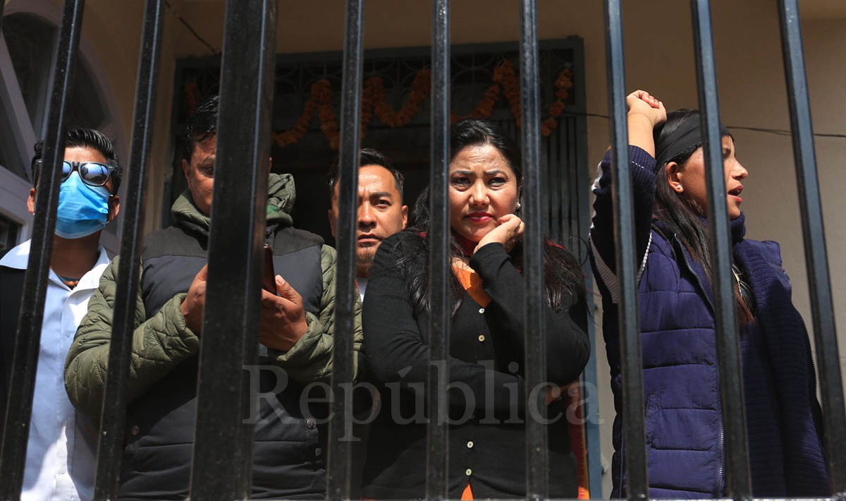 NCP (Dahal-Nepal) leader Jhakri released