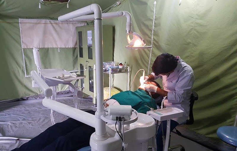 27 months on, doctors still treating quake-hit patients under tents