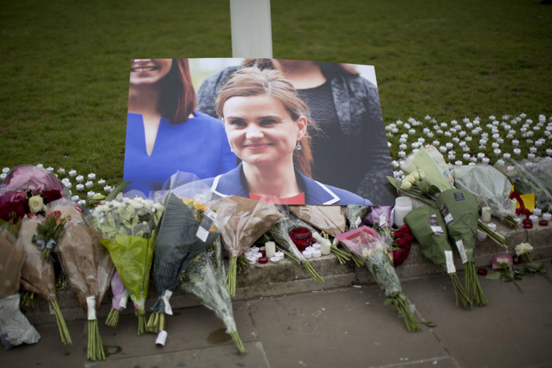 UK police charge man with murder in Jo Cox slaying