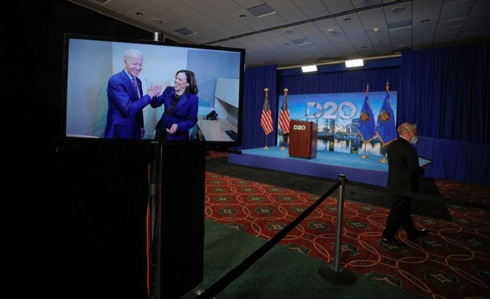 Democrats nominate Joe Biden for president, vowing to end Trump 'chaos'