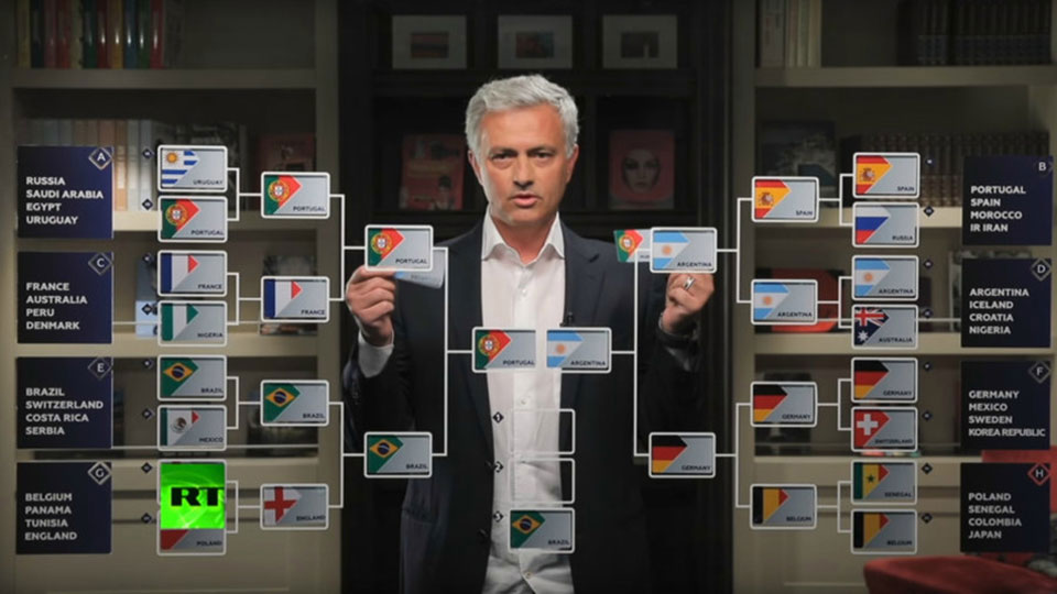 Jose Mourinho predicts Ronaldo vs Messi cliffhanger in World Cup final