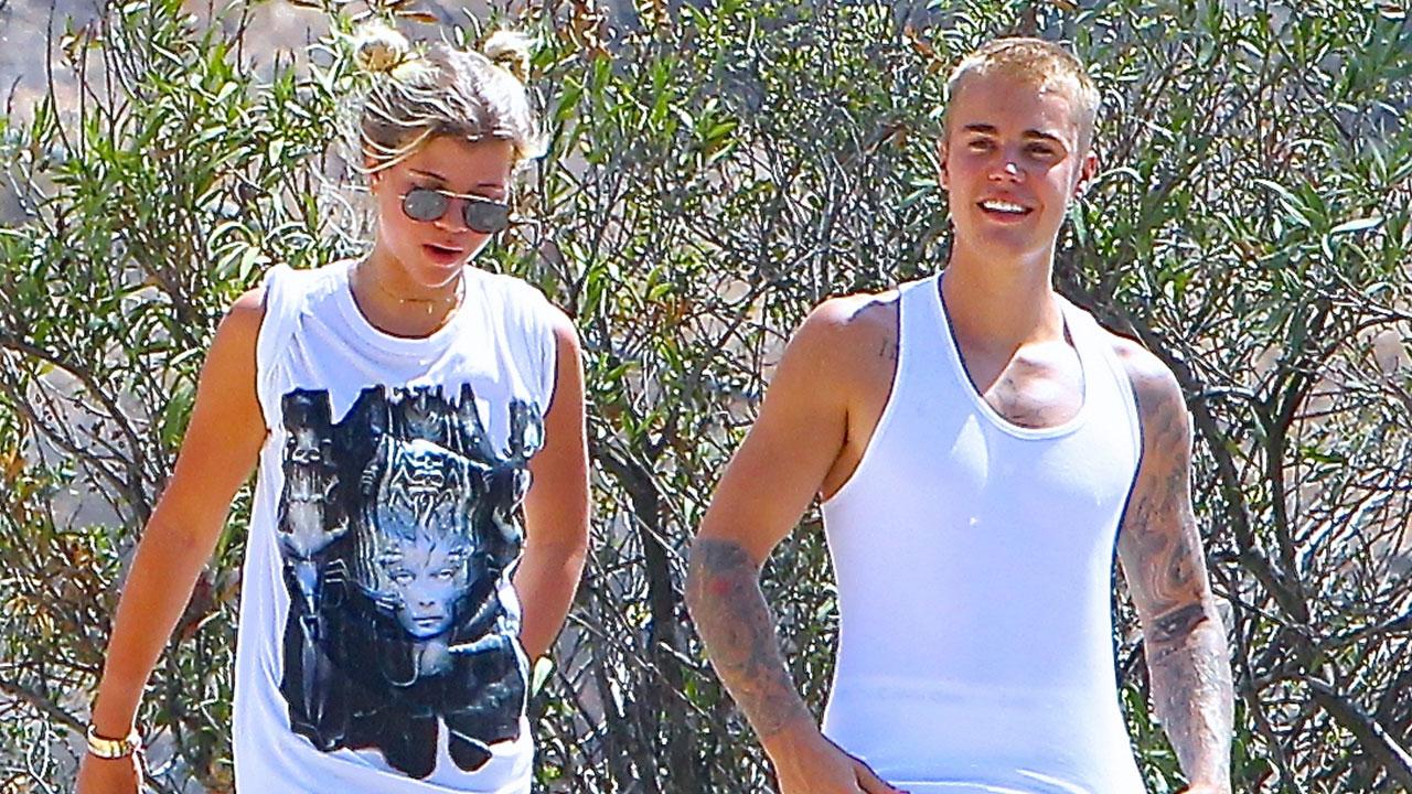 Justin Bieber enjoys romantic hike with Sofia Richie