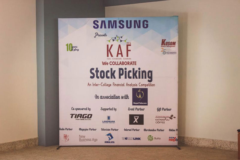 First round of stock picking competition held at KUSOM