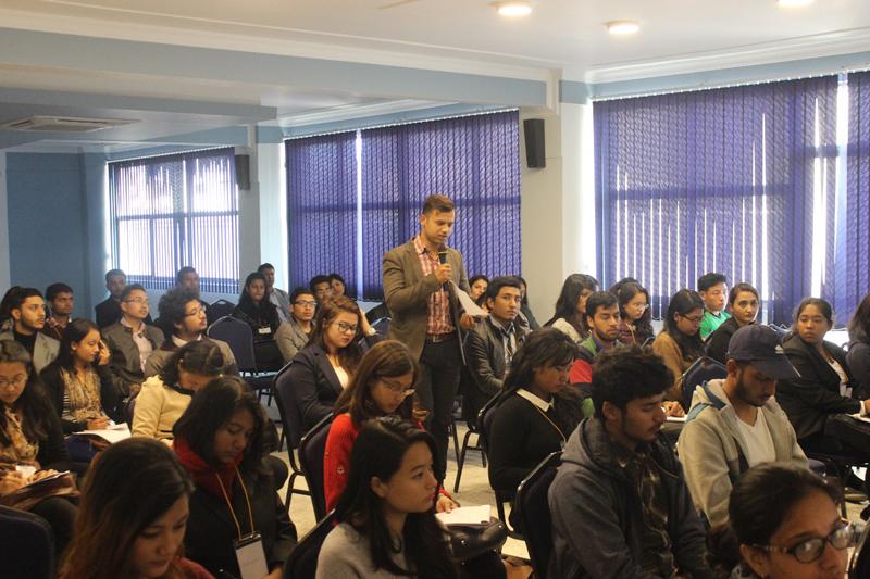 Workshop on resume building, mock interview session at KUSOM