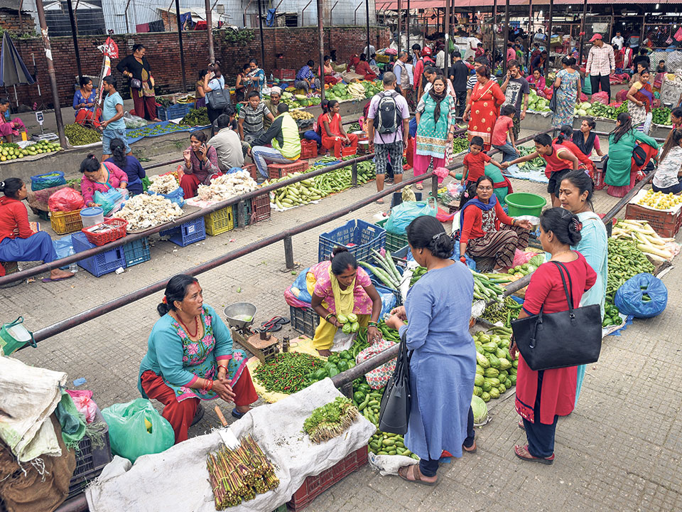 Kalimati market to suspend retail transaction of vegetables and fruits from Thursday owing to risk of coronavirus