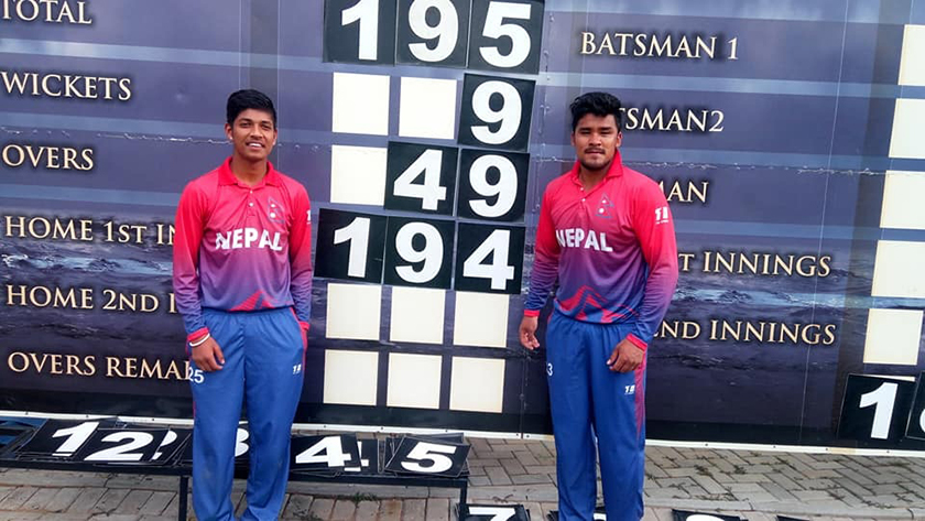 Nepal clinches difficult win over Canada