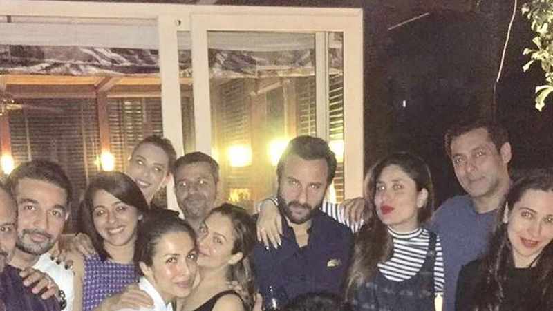 Kareena Kapoor parties with Salman Khan, Iulia Vantur