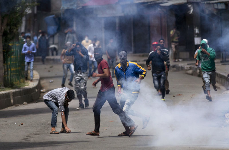 Indian forces fire at Kashmir protesters, killing young man