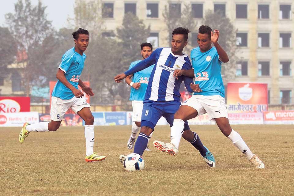 Goalkeeper Shrestha inspires Sankata win; Three Star set for domestic return