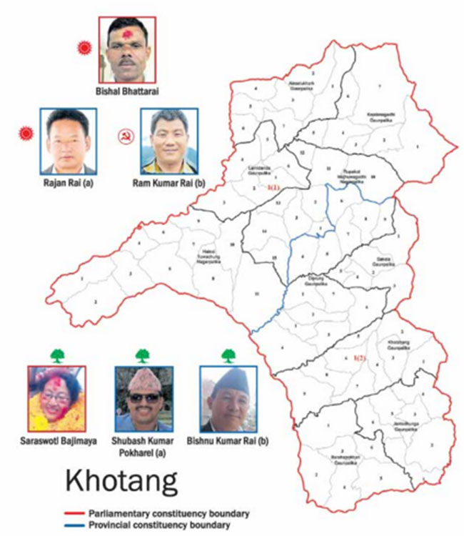 Old faces in the fray in Khotang