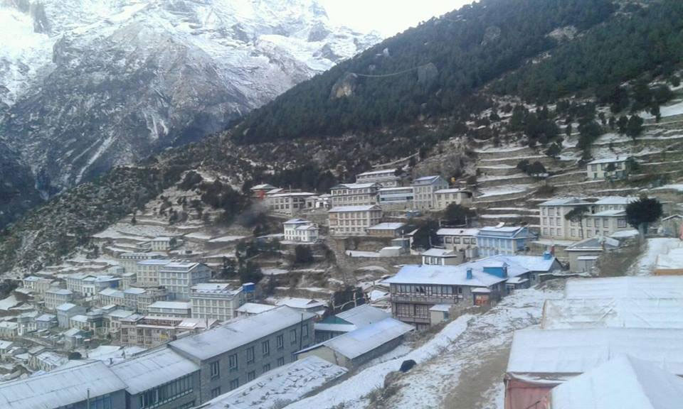 Khumbu wears a deserted look as locals leave for warmer areas to escape cold