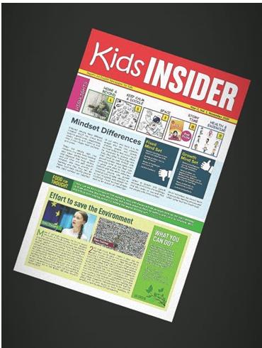 'Kids Insider' fortnightly newspaper releasing soon