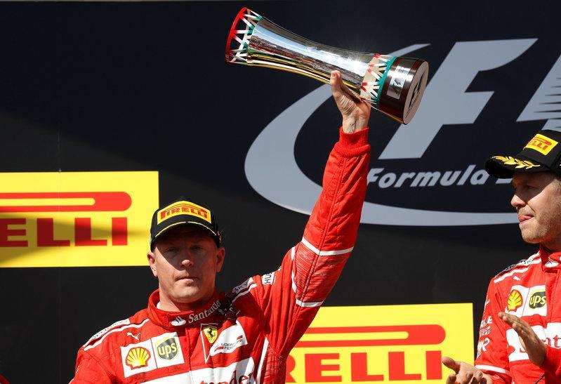 Ferrari renews racing agreement with Kimi Raikkonen