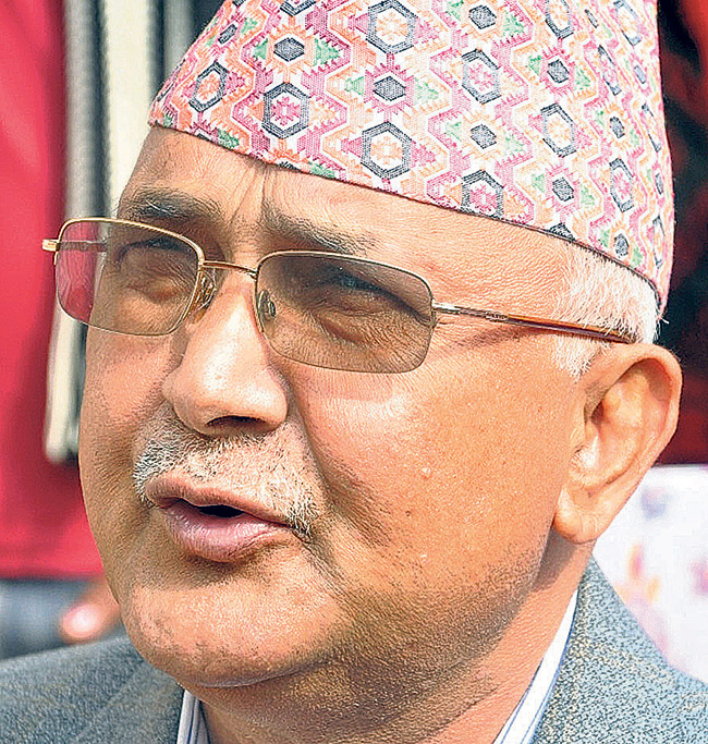 UML Chair Oli proposed to contest polls from Siraha constituency-1