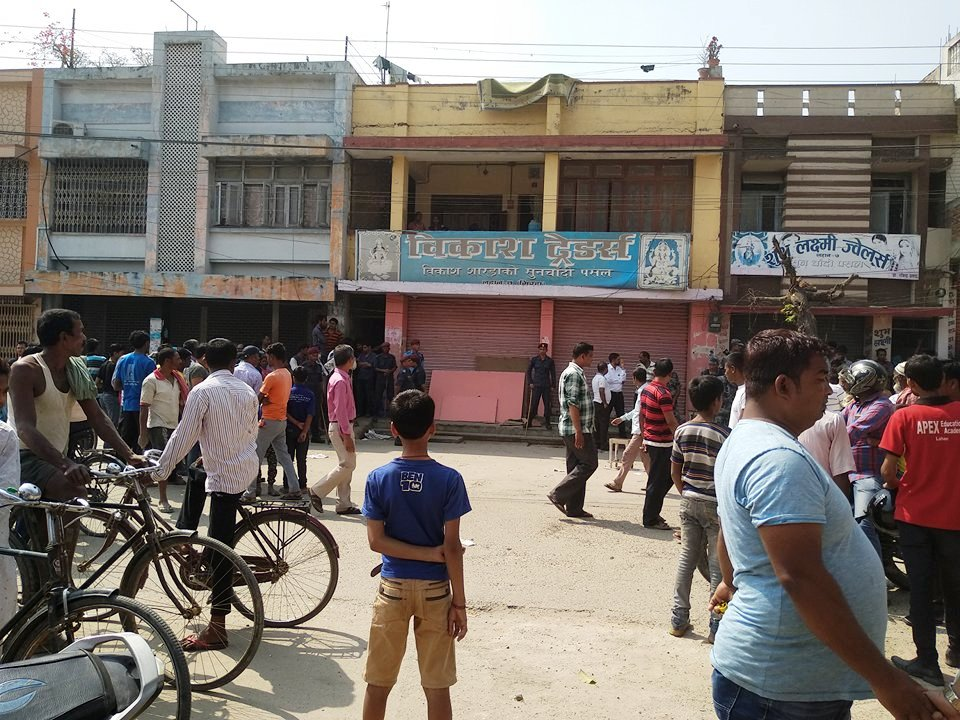 Six injured in Lahan bomb explosion
