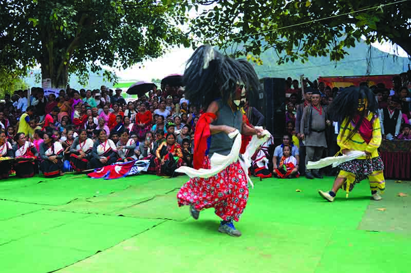 Khotang, Tanahun In Bid To Promote Lakhey Dance