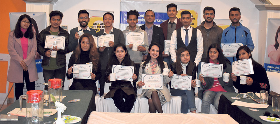 Landmark Education concludes public speaking workshop