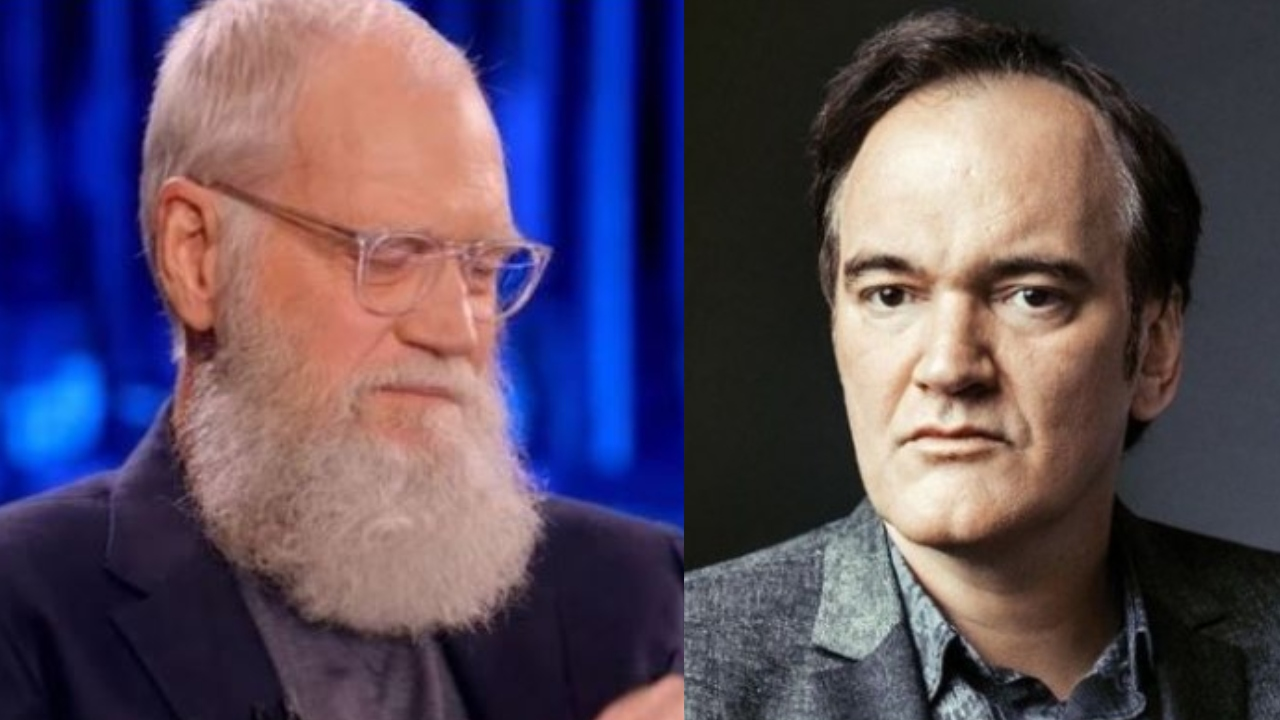 David Letterman reveals Quentin Tarantino once threatened to beat him up