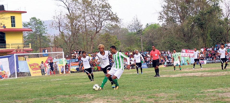 Manang into Madan Bhandari final