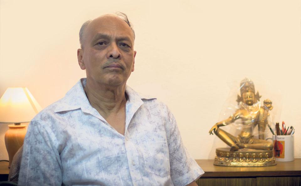 Madan Chitrakar's arduous journey