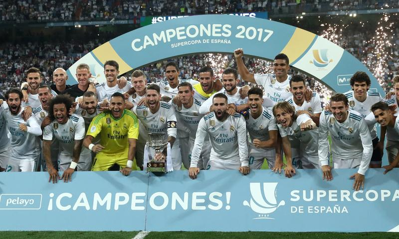 Dominant Madrid crush Barcelona to win Super Cup