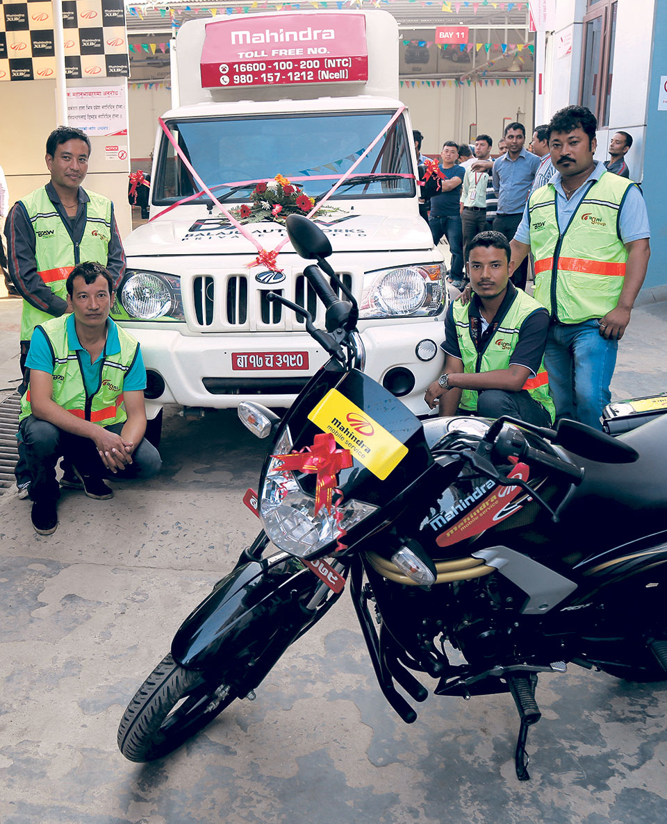 Breakdown recovery service for Mahindra vehicles begins
