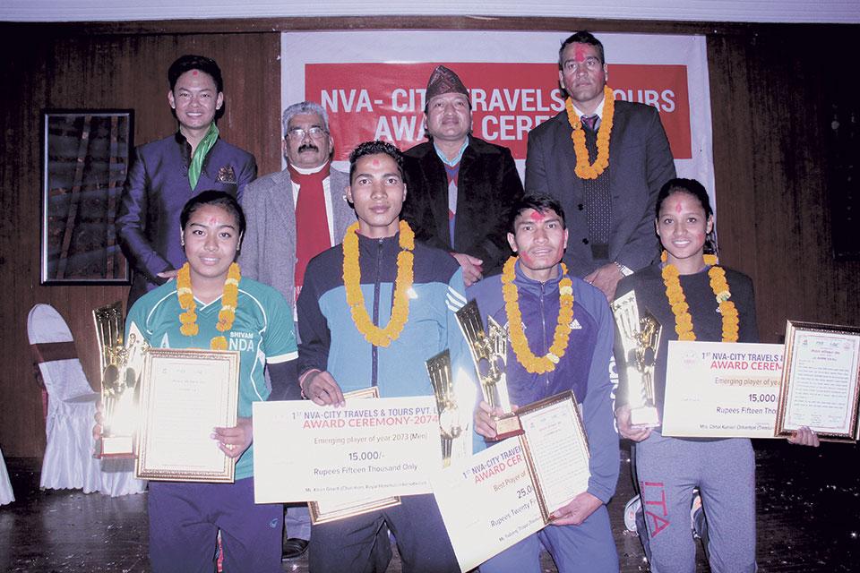 Mali and Shrestha adjudged best