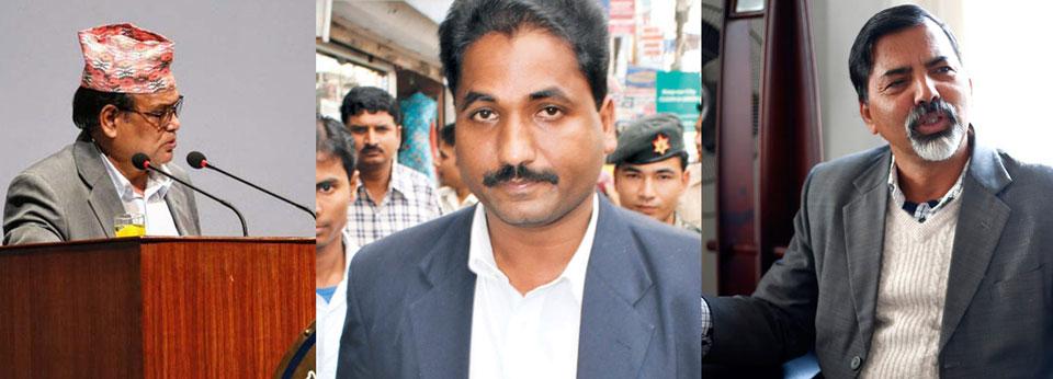 Mahara, Sharma, Sah to represent Maoist Center in Deuba cabinet