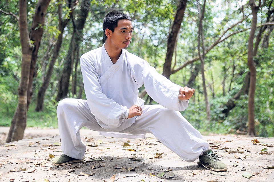 Province level martial art festival kicked off