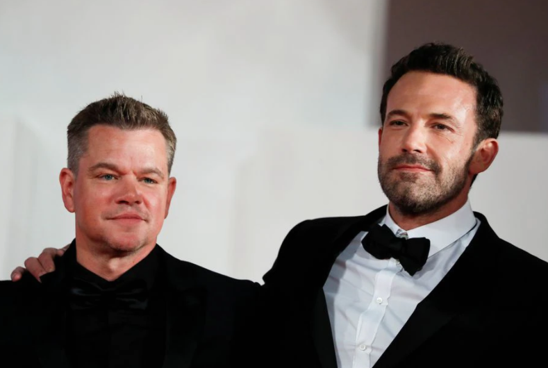 For Affleck and Damon, working together is a lot of fun
