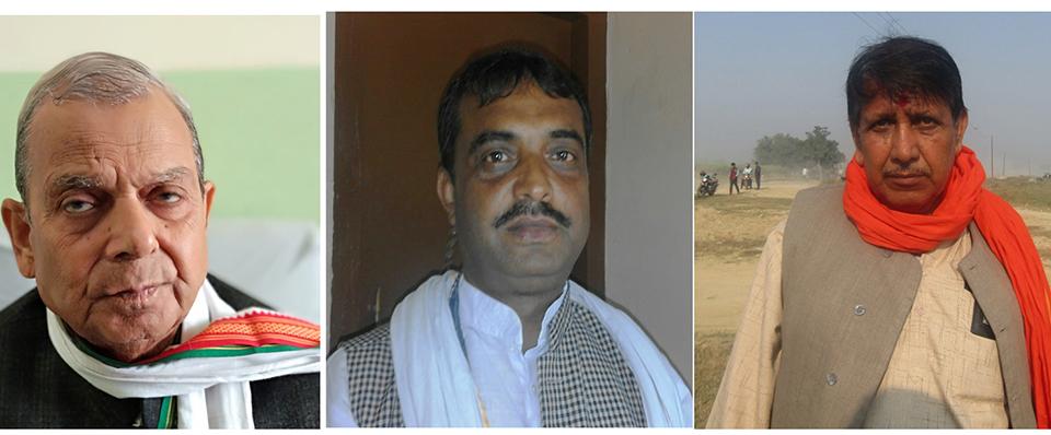 Three-way race in Mahantha Thakur's constituency