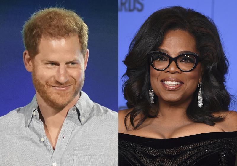 Oprah, Prince Harry reunite for Apple TV+ mental health show