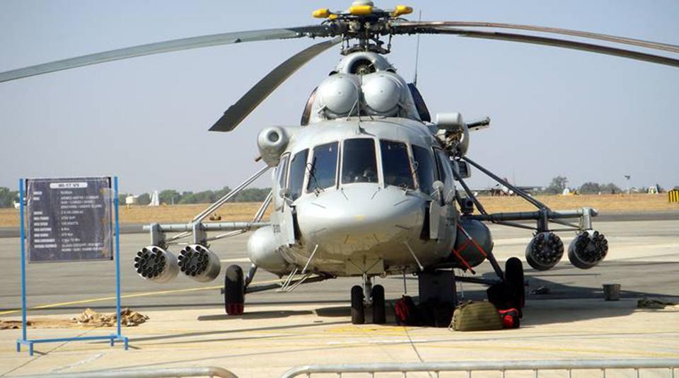 IAF chopper crashes in Arunachal, five dead