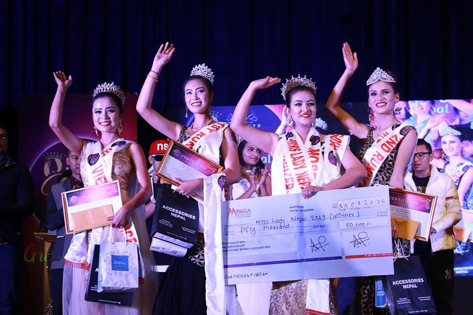 Oki Kimoche bags 'Miss Lady Nepal-2019'