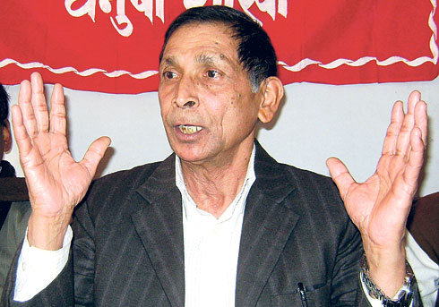 'Who's a communist in Nepal?'