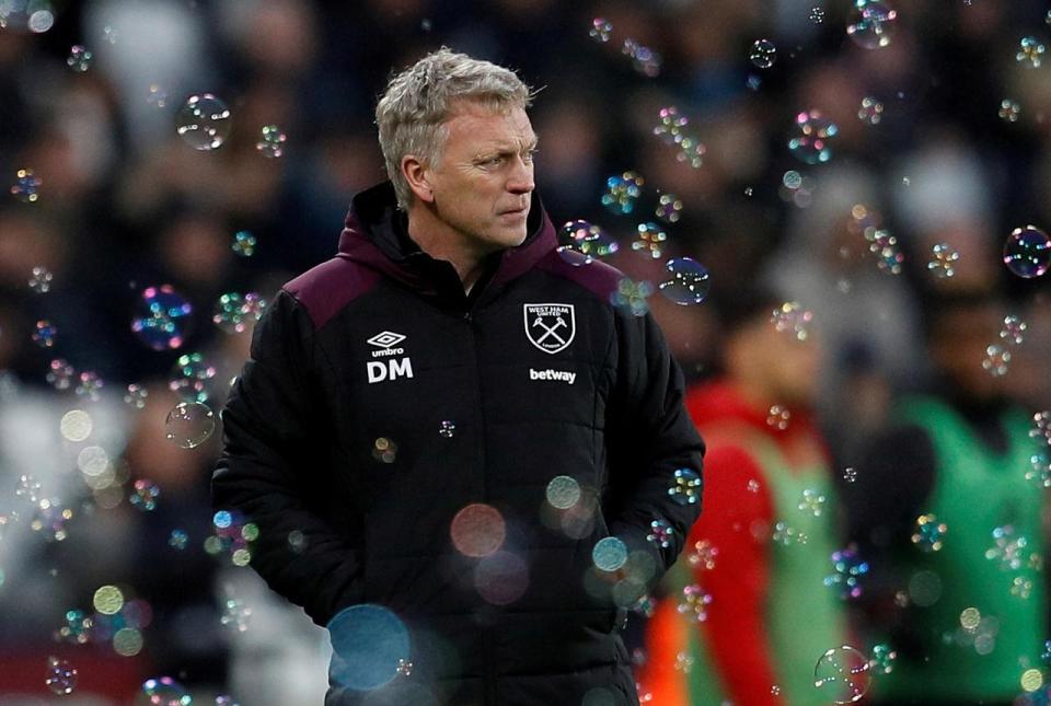 West Ham reappoint Moyes in bid to avoid relegation scrap