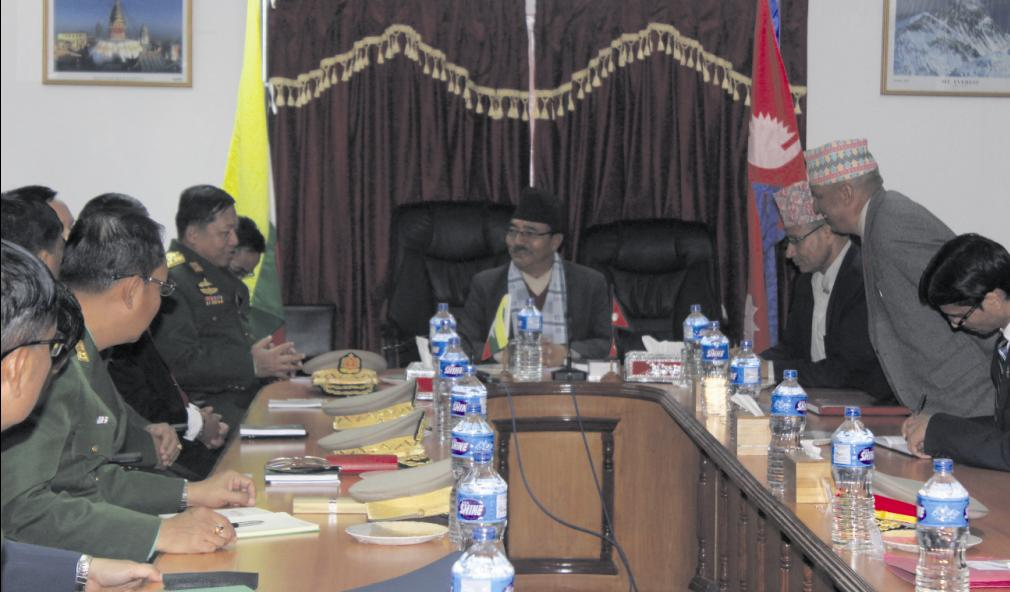 Myanmar army chief's visit stirs controversy