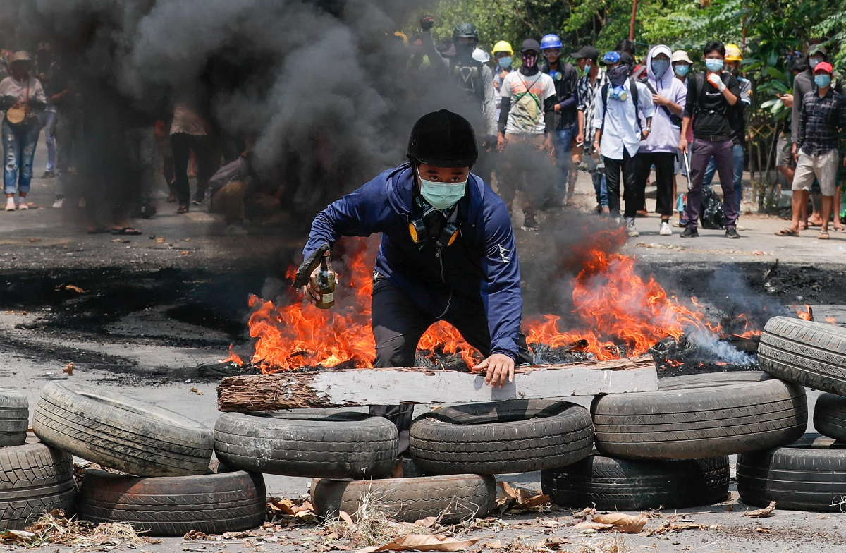 Myanmar security forces kill over 100 protesters in 'horrifying' day of bloodshed