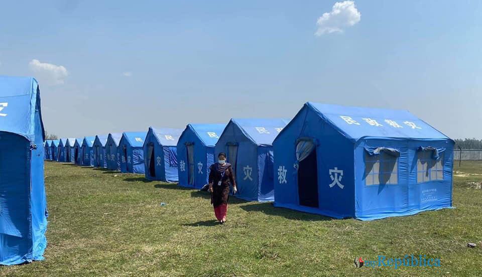 Stranded Nepalis at Rupaidiha under quarantine in Nepalgunj (with photos)