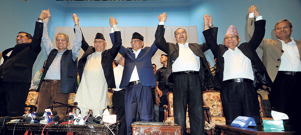 UML, Maoist Center, Naya Shakti to unify