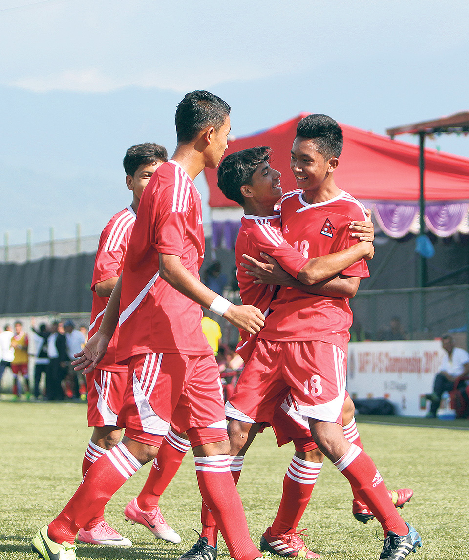 Nepal to face India in SAFF U-15 final