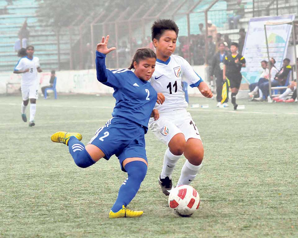 Nepal ousted from U-15 Women's Championship