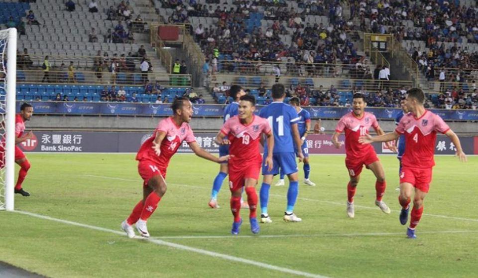 Anjan stars as Nepal beats Chinese Taipei 2-0