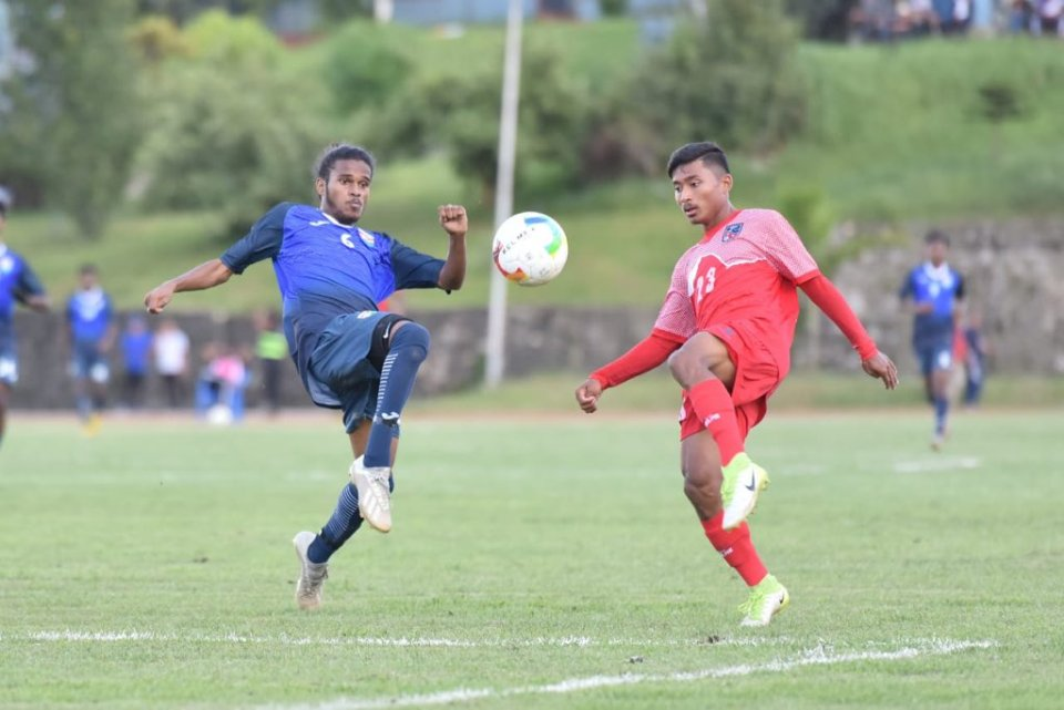 Tournament opener ends in a tie; Nepal, Maldives share a point each