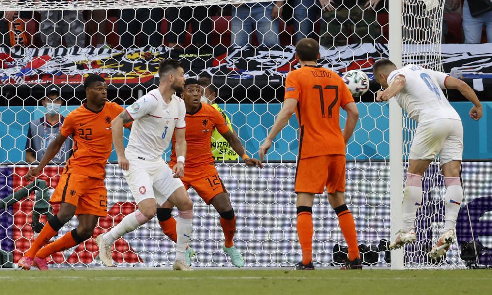 Czechs beat Netherlands 2-0 to reach Euro 2020 quarterfinals