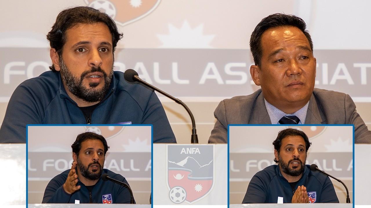 Kuwait national Abdullah Almutairi is new head coach of Nepali national football team