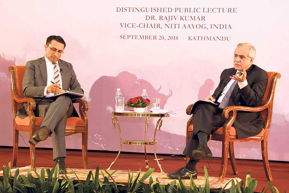 NITI Aayog's vice-chair stresses 'connectivity of trust' between Nepal, India
